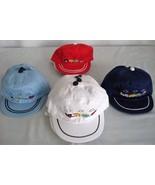 COTTON Red/blue/White w/train Boy' girl' CAP/HAT age1-5 - $1.57