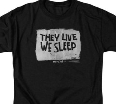 They Live t-shirt They Live We Sleep 80s horror sci-fi graphic tee UNI610 image 2