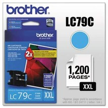 Brother LC79C LC79C Innobella Super High-Yield Ink, Cyan - $21.78