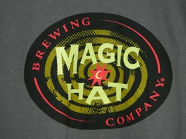 MAGIC HAT BREWING COMPANY Gray Graphic T-Shirt Size Small - $19.80