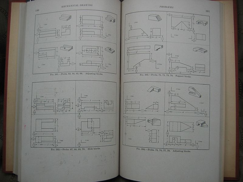 Mechanical Drawing French and Svensen 1944 Fourth Edition