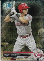 2017 BOWMAN CHROME MEGA BOX MOJO BCP61 TYLER STEPHENSON RC REDS FREE SHIP - $1.89