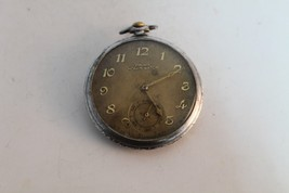 Rare Antique Vintage Old Swiss Made Prima - Homis Pocket Watch. - $70.39
