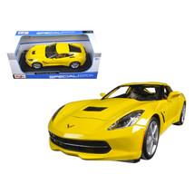 DDS-2659 2014 Chevrolet Corvette C7 Stingray Yellow 1/18 Diecast Model C... - $52.94
