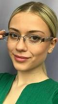 New COACH HC 3050 0290 50mm Rx Semi-Rimless Women's Eyeglasses Frame - $99.99