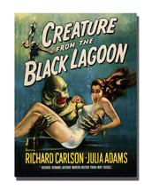 1950's Horror Movie Creature from the Black Lagoon 16x20 Aluminum Wall Art - $59.35