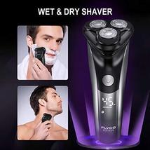 Electric Razor for Men FLYCO Intelligent Electric Shaver, Wet & Dry Rotary Shave image 8