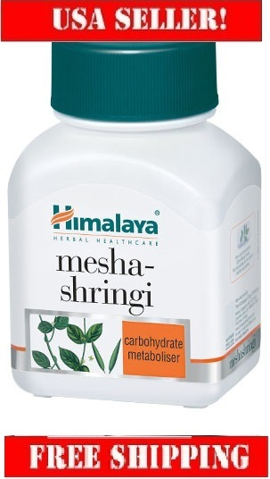 Himalaya Meshashringi 60cap,Gymnema is Invaluable for diabetics,retail $14.99
