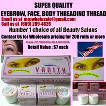 1000 X Eyebrow threading thread VANITY USA seller FREE SHIP 100 Box US & UK - $900.00