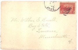 Jamestown Exposition 2 cents on cover Scott Catalog #329 - $4.99