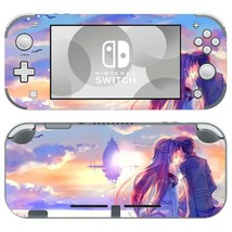 Nintendo Switch Lite Console Vinyl Skin Decals Anime Sword Art Online Kirito SAO - $9.70