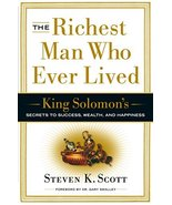 The Richest Man Who Ever Lived: King Solomon's Secrets to Success, Wealt... - $6.43