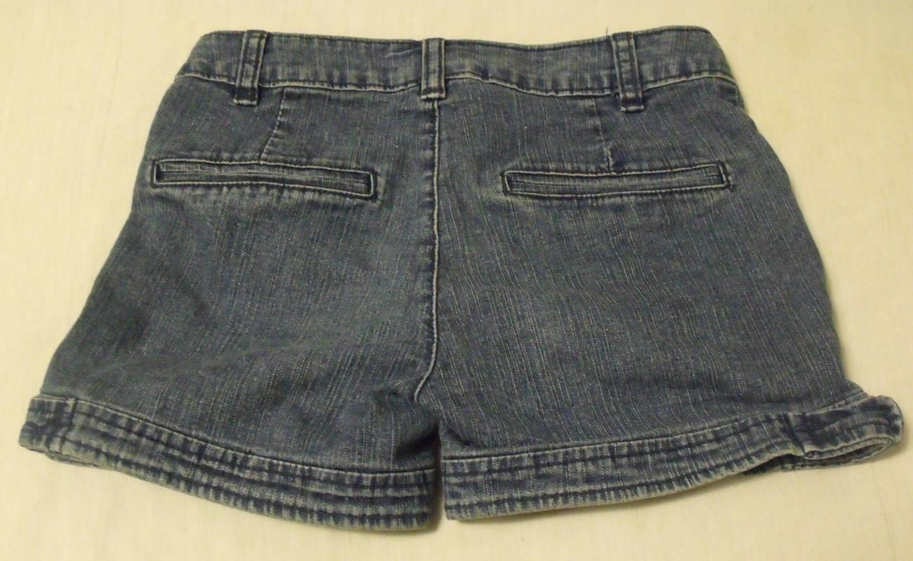 Girls Circo Denim Blue Jean Shorts Size Medium 7 to 8