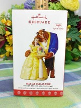 Hallmark Tale As old As Time ornament Beauty and the Beast 2017 - $69.75