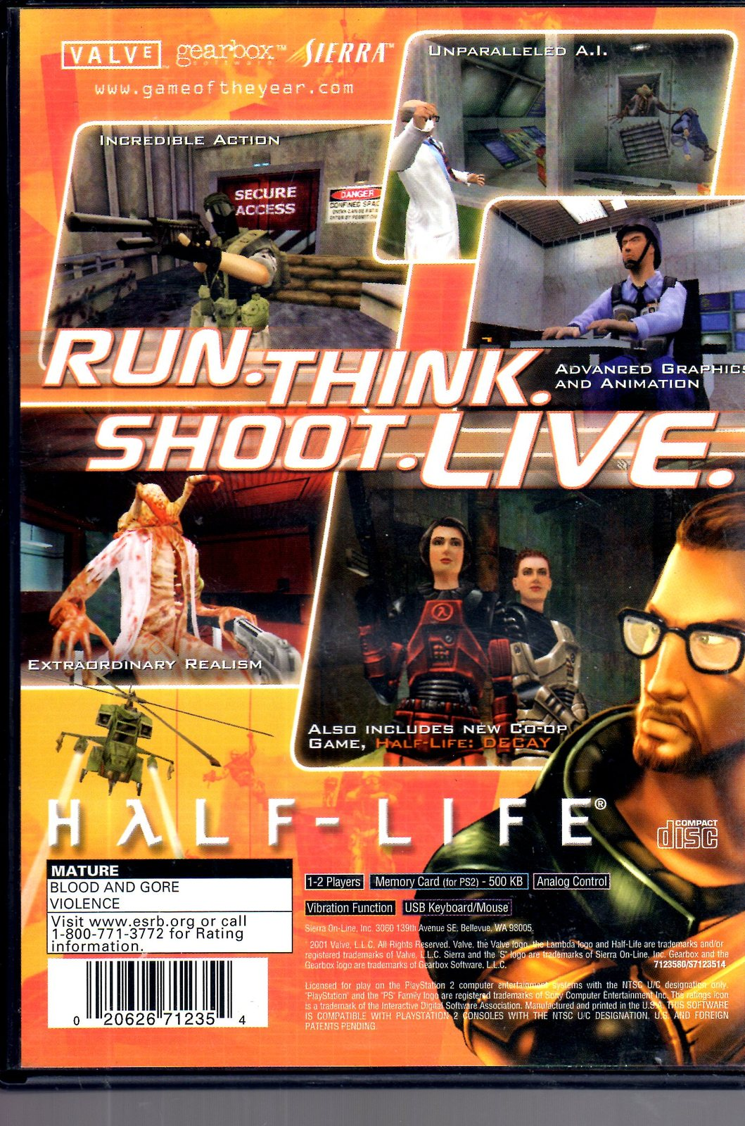 PlayStation 2 - Half-Life