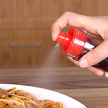 New 2In1 Creative Seasoning Oil Bottle Sprayer Bottle Olive Oil Soy Sauc... - $10.22