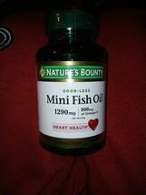 Natures Bounty Omega-3 Fish Oil 120 softgels 1200 mg - $12.86