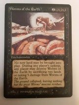 Worms Of The Earth The Dark Played Rare Magic The Gathering Card - $6.92