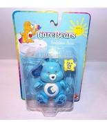 Blue Care Bears Bedtime Bear CLIP ON Figure Moon Tummy NEW In Package Po... - $18.31