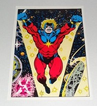 Vintage original 1978 Jim Starlin Captain Marvel 29 cover art pin-up poster: 70s - $39.59