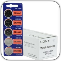 Sony B0061PR4RA CR032 Button Cell Batteries - 100 Count - $36.14