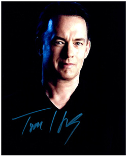 Primary image for TOM HANKS  Authentic Original  SIGNED AUTOGRAPHED PHOTO w/ COA 507