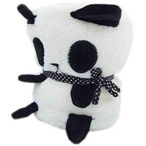 Panda Blanket Coral Blanket Cute Pillow Super Soft Blanket for Baby