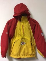KANSAS CITY CHIEFS REEBOK TEAM APPAREL ON FIELD INSULATED JACKET Youth M... - €18,49 EUR