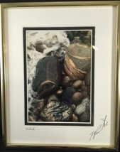 """Framed matted Kim Roberts Signed """"Washed"""" 5"""" X 7"""" Photo Print Stream cre... - $19.60"""