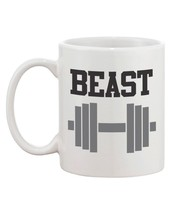 Beauty and the Beast Matching His and Hers Couple Coffee Mugs (MC040) image 2