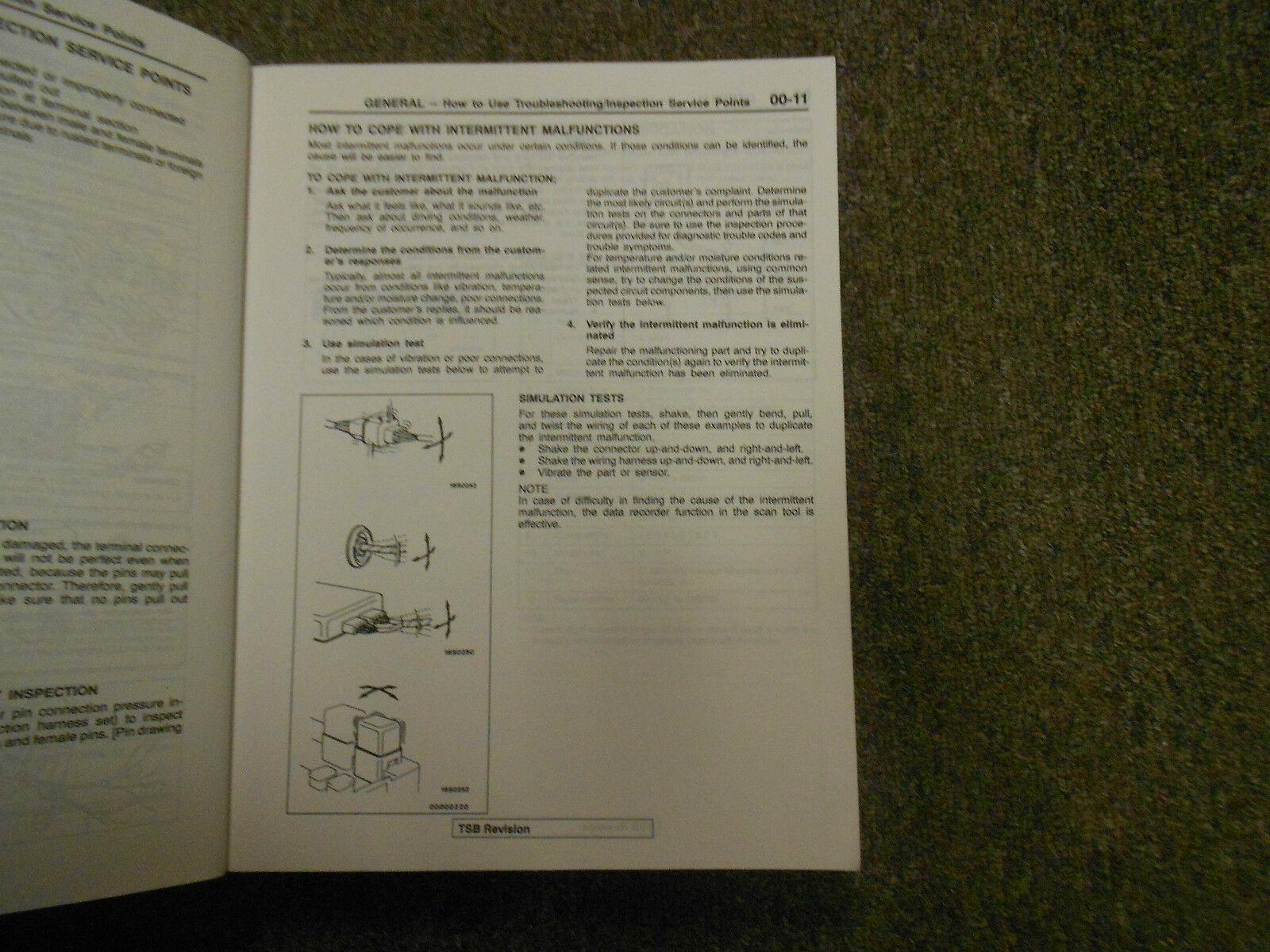 1997 MITSUBISHI Galant Service Repair Shop Manual VOL 1 FACTORY OEM BOOK 97 DEAL