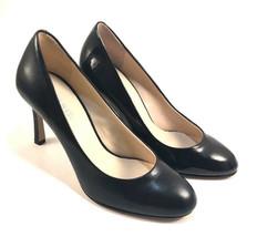 Nine West Drusilla Black Leather Round Toe Pumps Choose Sz/Material Size 7.5 - $55.20