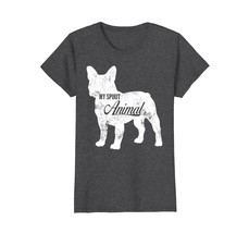 Grunge Vintage My Spirit Animal Frenchie T-shirt Silhouette - $19.99+