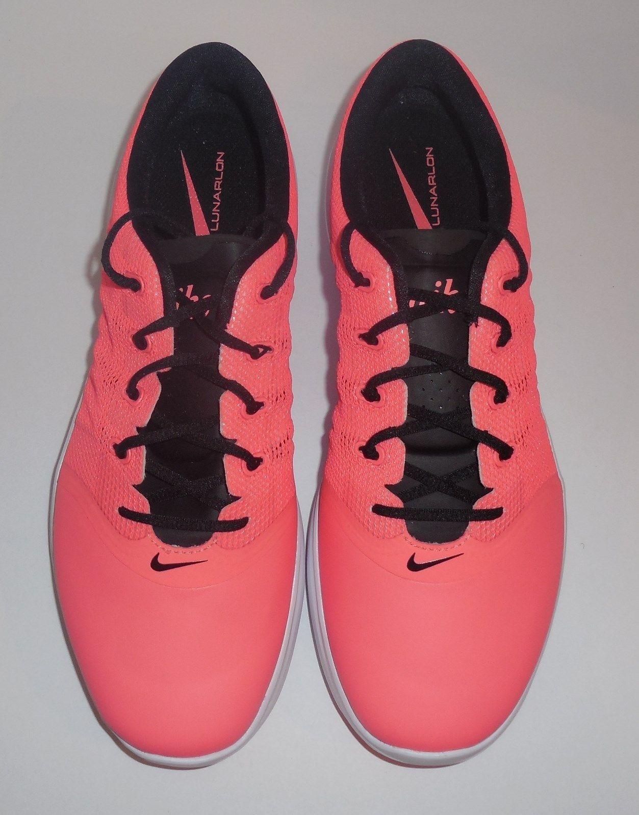 brand new aae00 980c9 NIKE Lunar Empress 2 Womens Size 10 Golf Shoes Lava Black White New 819040- 600