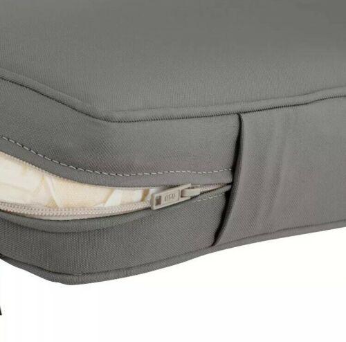 "Classic Accessories Montlake FadeSafe Cushion Slip Cover - 19""W x 20""H x 4""T image 7"