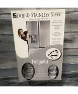 Liquid Stainless Steel Fridge Makeover Paint Kit - $78.21