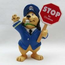 School Crossing Guard Holiday Patrol Police Dog Ornament Hallmark Keepsa... - $9.74