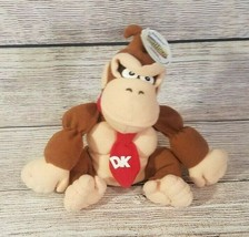 "Nintendo 64 Collectibes Plush Donkey Kong Stuffed Bean Bag 1998 No Sound 7"" - $14.54"