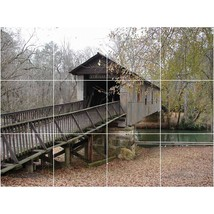 Bridge Photo Tile Murals BZ30928. Kitchen Backsplash Bathroom Shower Wal... - $120.00+