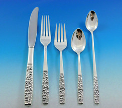 Contessina by Towle Sterling Silver Floral Flatware Set For 8 Service 54 Pieces - $3,250.00