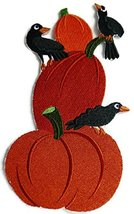 BeyondVision Custom And Unique Happy Halloween [Creepy Crows and Pumpkin... - $16.82