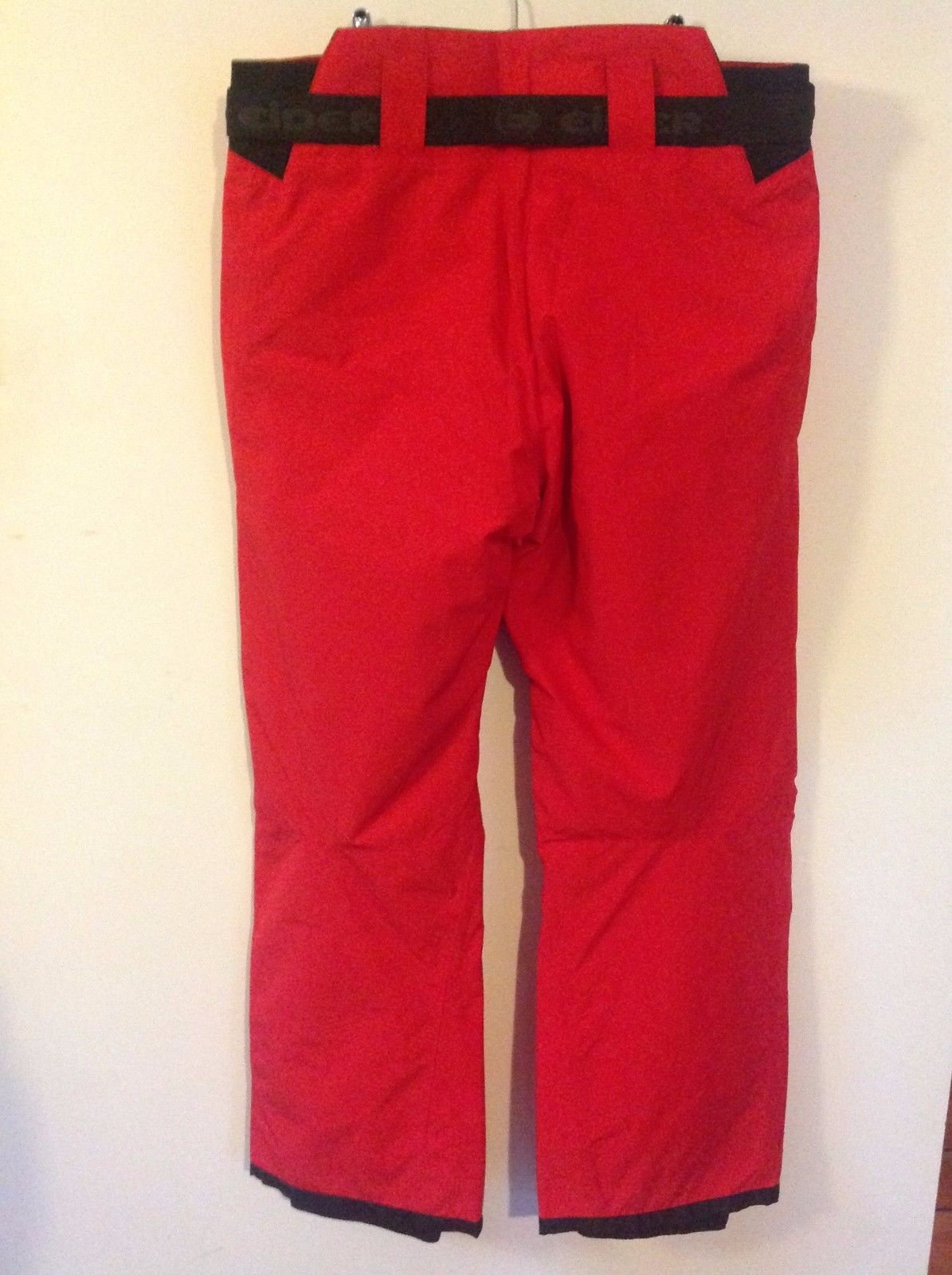 Eider Defender Fiery Red Alta Badia Ski Snowsport Trousers Pants  2XL £135  BNWT