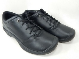 Keen PTC Oxford Size 6 M (B) EU 36 Women's Slip Resist Work Shoes Black ... - $88.95