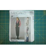 McCall's 9006 Size 20 22 24 Misses' Jumper in Two Lengths and Shirt - $11.64