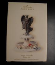 Hallmark Keepsake Christmas Ornament 2007 Angel Fountain Winter Park Boxed - $11.99
