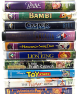 Vintage Disney Masterpiece Collections 8 VHS & 2 MCA Universal, Babe and... - $131.94