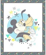 Mickey Mouse-Nursery Collection Fabric Pane-Large Mickey Panel-Disney - $8.60
