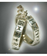 FREE WITH $49 HAUNTED RUNES EARRINGS CROW'S CALLING ADVANTAGES MAGICK TR... - $0.00