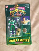 Auto Morphin Power Ranger Tommy 1994 New - Cardboard Tear - $21.77