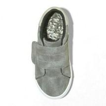 Cat & Jack Gray Lorenzo Toddler Boys Kids Faux Leather Slip-On Summer Shoes NWT image 2